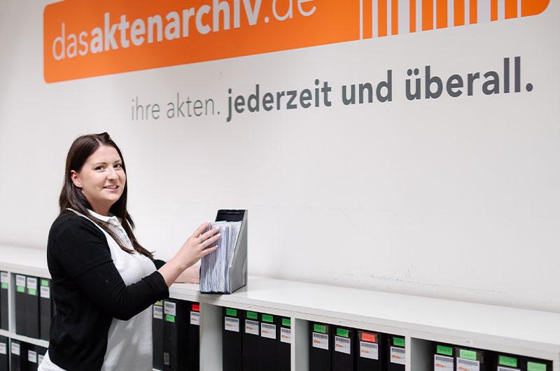 Akten-Archivierung & Akten-Digitalisierung | Das Aktenarchiv
